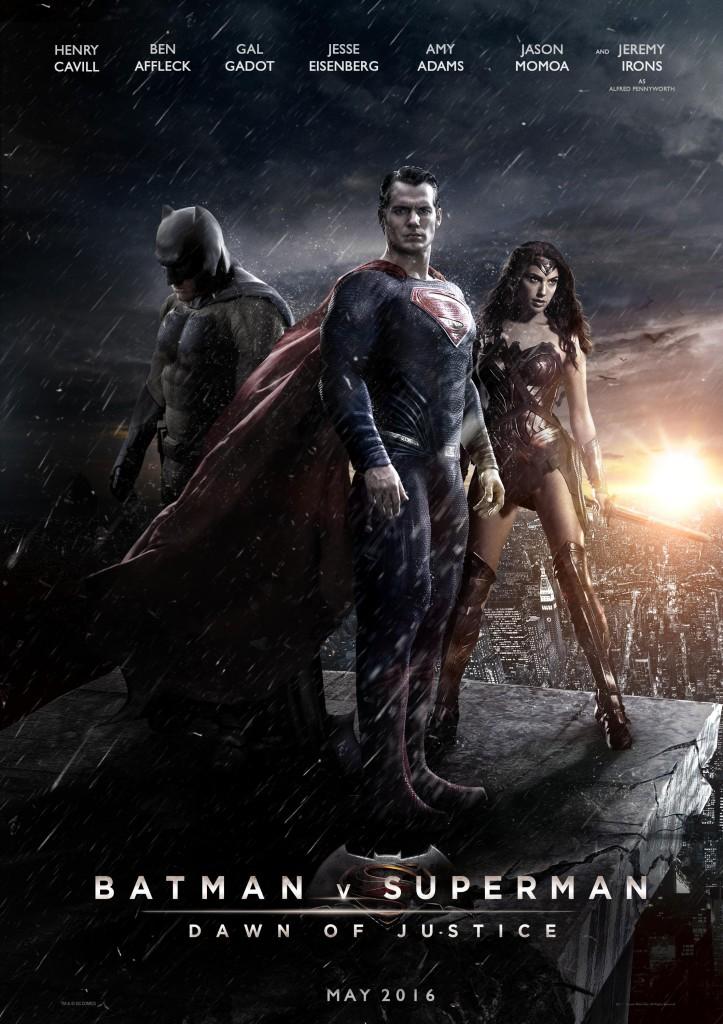 Cinezone Poster - Batman VS Superman